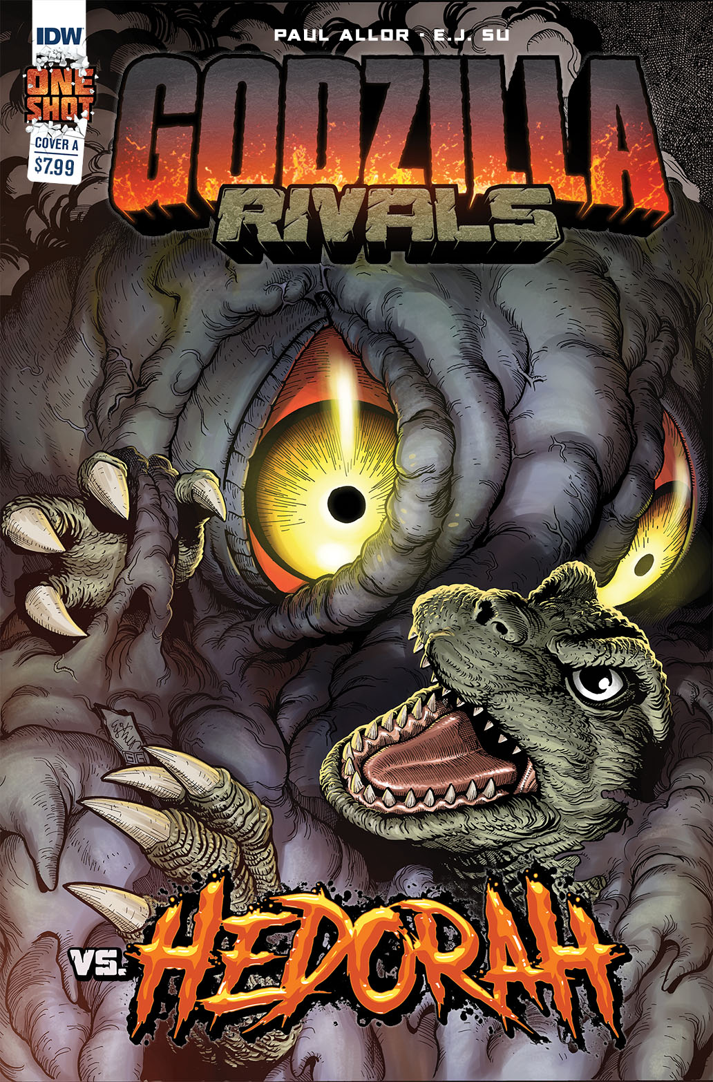 Godzilla_Rivals_1-copy IDW Publishing June 2021 Solicitations