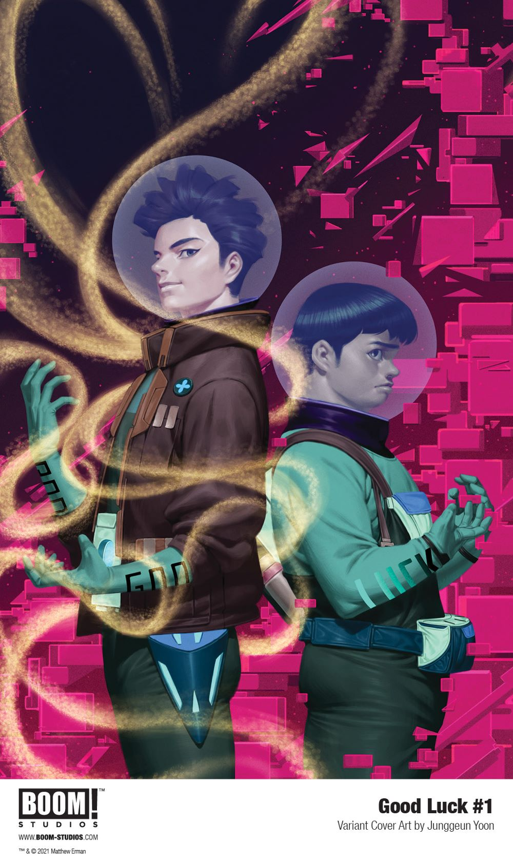 GoodLuck_001_Cover_Variant_Yoon_PROMO Fortunately BOOM! Studios is publishing GOOD LUCK