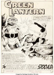 Green-Lanter-8-Page-1-by-Gil-Kane-and-Joe-Giella-219x300 Green Lantern Art: Going Green on St. Patrick's Day