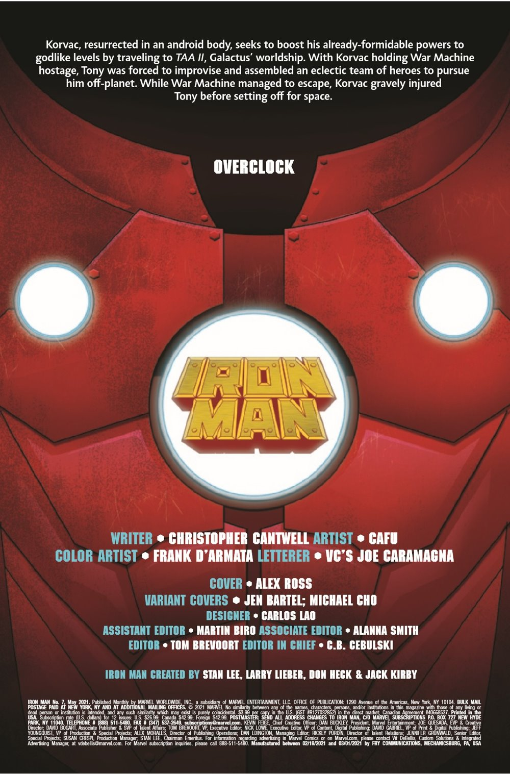 IM2020007_Preview-2 ComicList Previews: IRON MAN #7