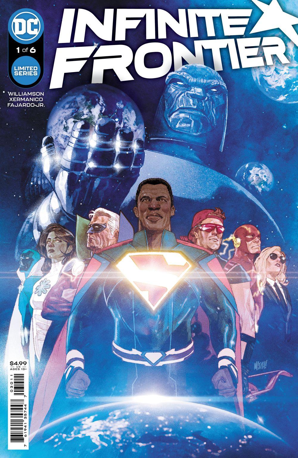 INFINITE_FRONTIER_Cv1 DC Comics June 2021 Solicitations
