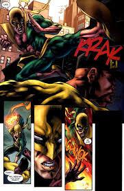 Iron-Fist-kicking-Luke-Cage-ass Blogger Dome - Luke Cage vs Iron Fist