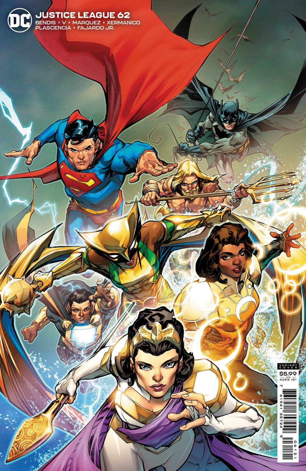 JL_Cv62_var DC Comics June 2021 Solicitations