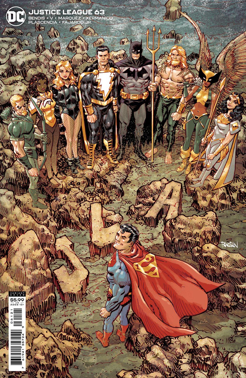 JL_Cv63_var DC Comics June 2021 Solicitations
