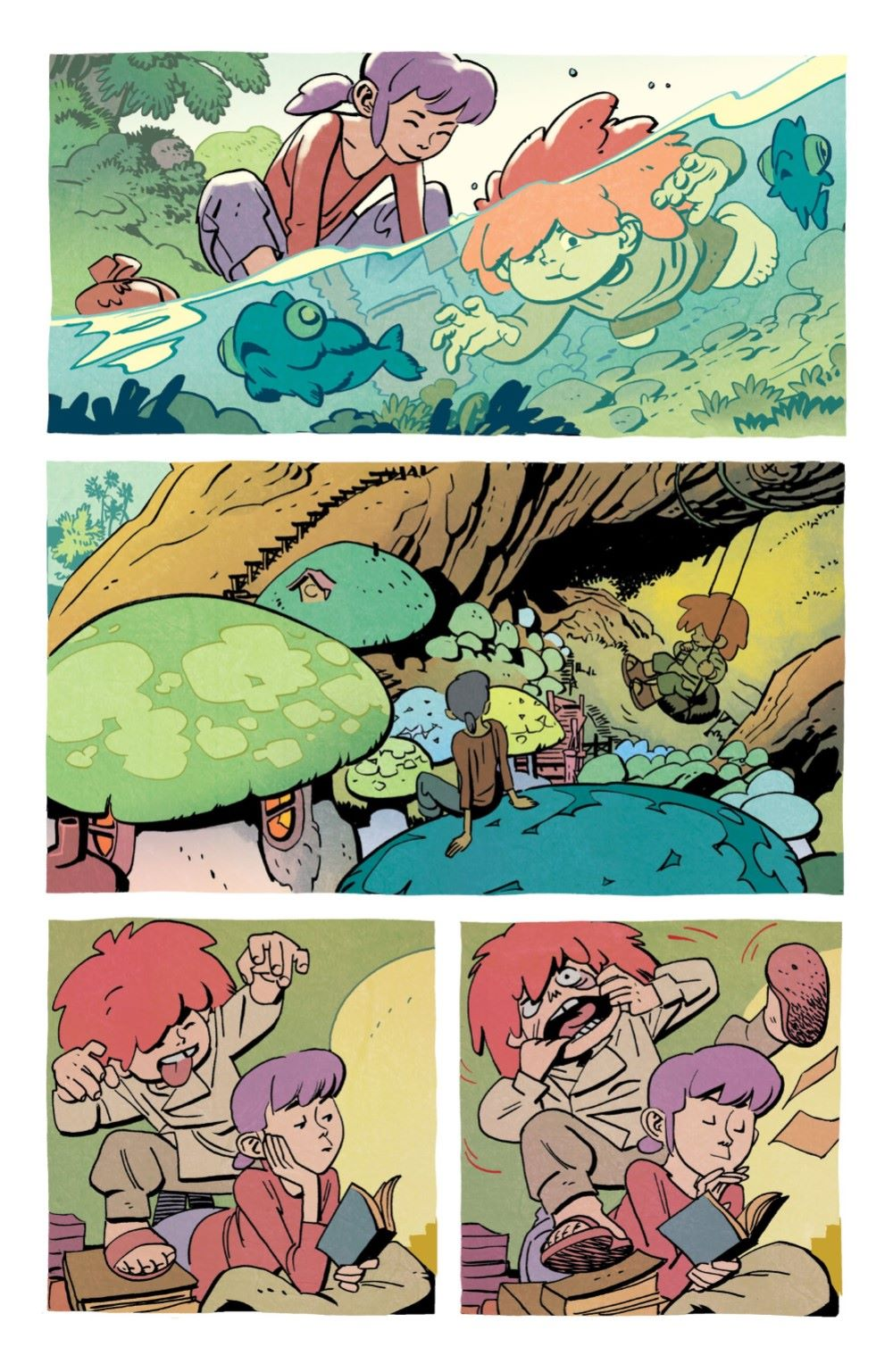 JONNA-2-MARKETING-05 ComicList Previews: JONNA AND THE UNPOSSIBLE MONSTERS #2
