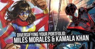 Kamala-300x157 Diversifying Your Portfolio: Miles Morales & Kamala Khan