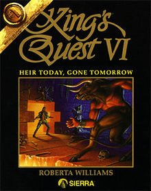 Kings_Quest_VI_-_Heir_Today_Gone_Tomorrow_Coverart Five Great Games Featuring Leprechauns