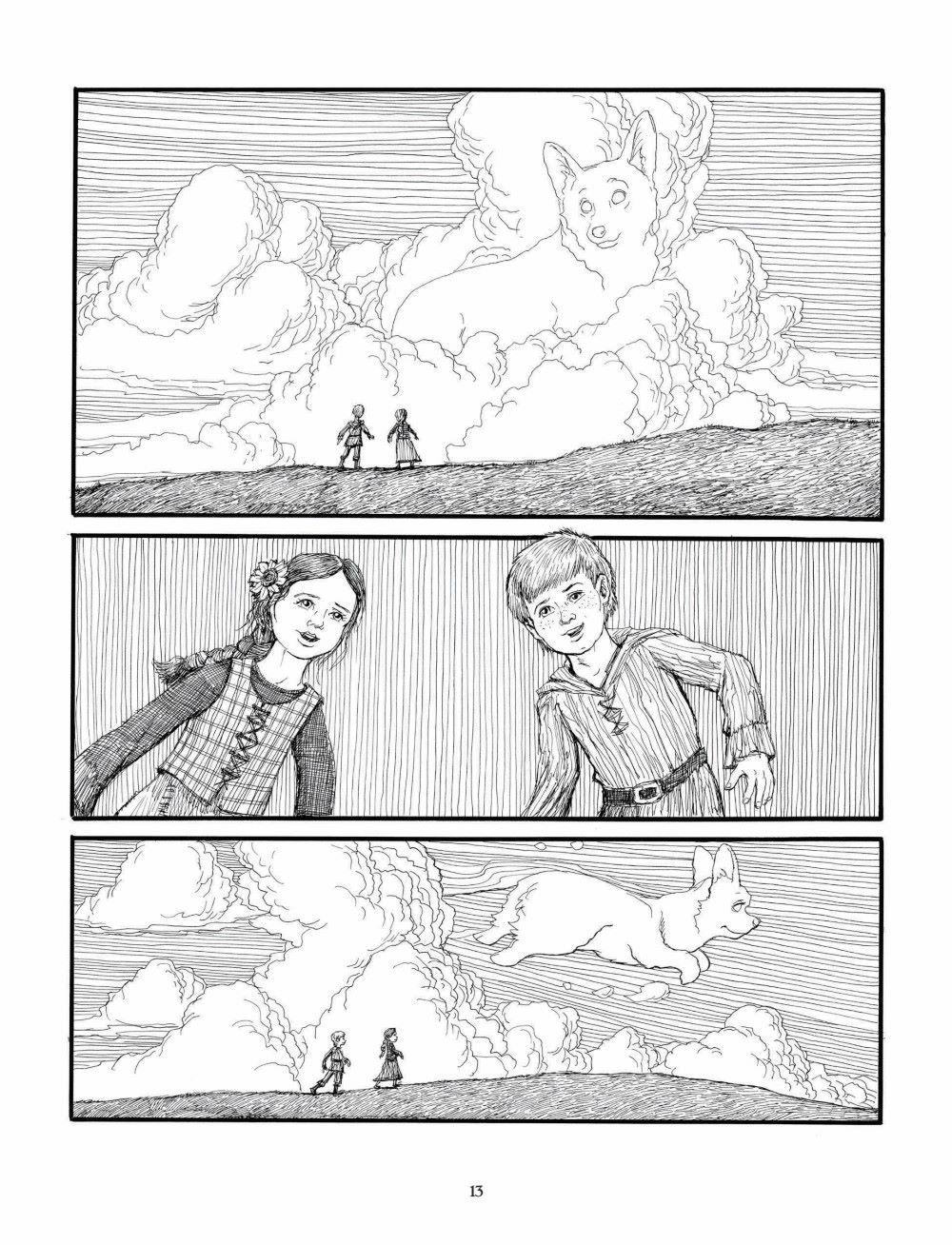 Korgi-Book-05_pr-7 ComicList Previews: KORGI VOLUME 5 END OF SEASONS GN