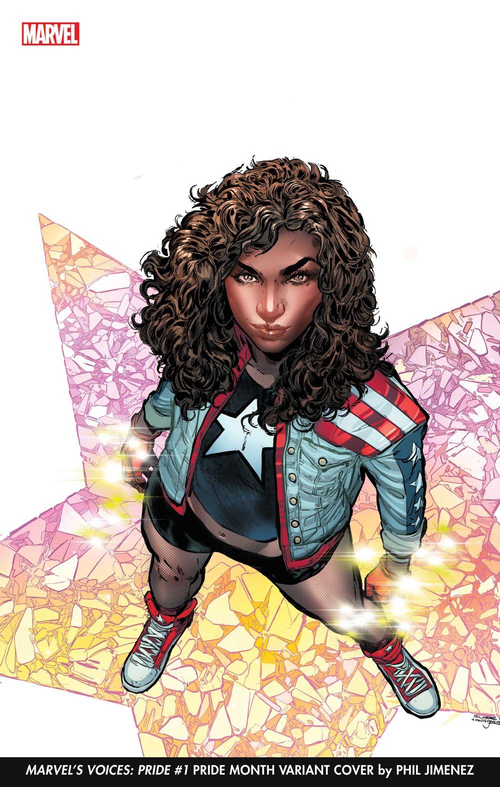 MARVOICESPRIDE2021001_PrideVar Phil Jimenez will provide covers for Marvel's Pride Month celebration