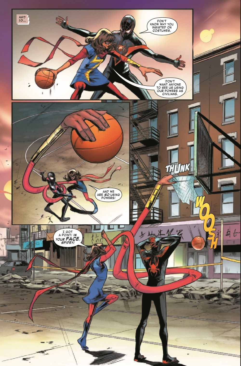MMSM2018024_Preview-3 ComicList Previews: MILES MORALES SPIDER-MAN #24