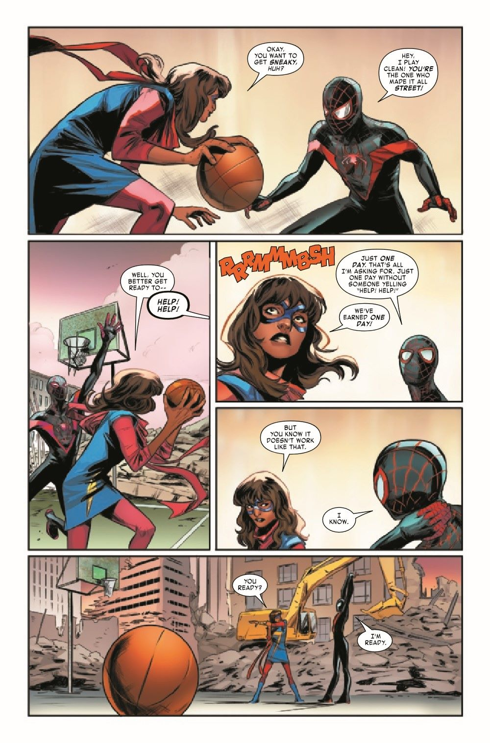 MMSM2018024_Preview-5 ComicList Previews: MILES MORALES SPIDER-MAN #24
