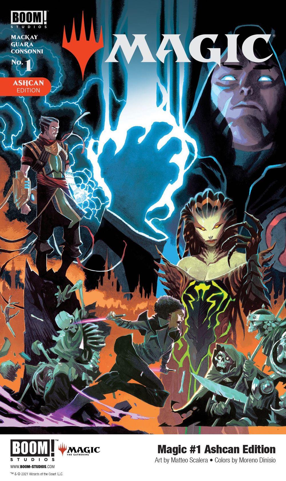 Magic_001_Cover_Ashcan_PROMO ComicList: BOOM! Studios New Releases for 03/10/2021