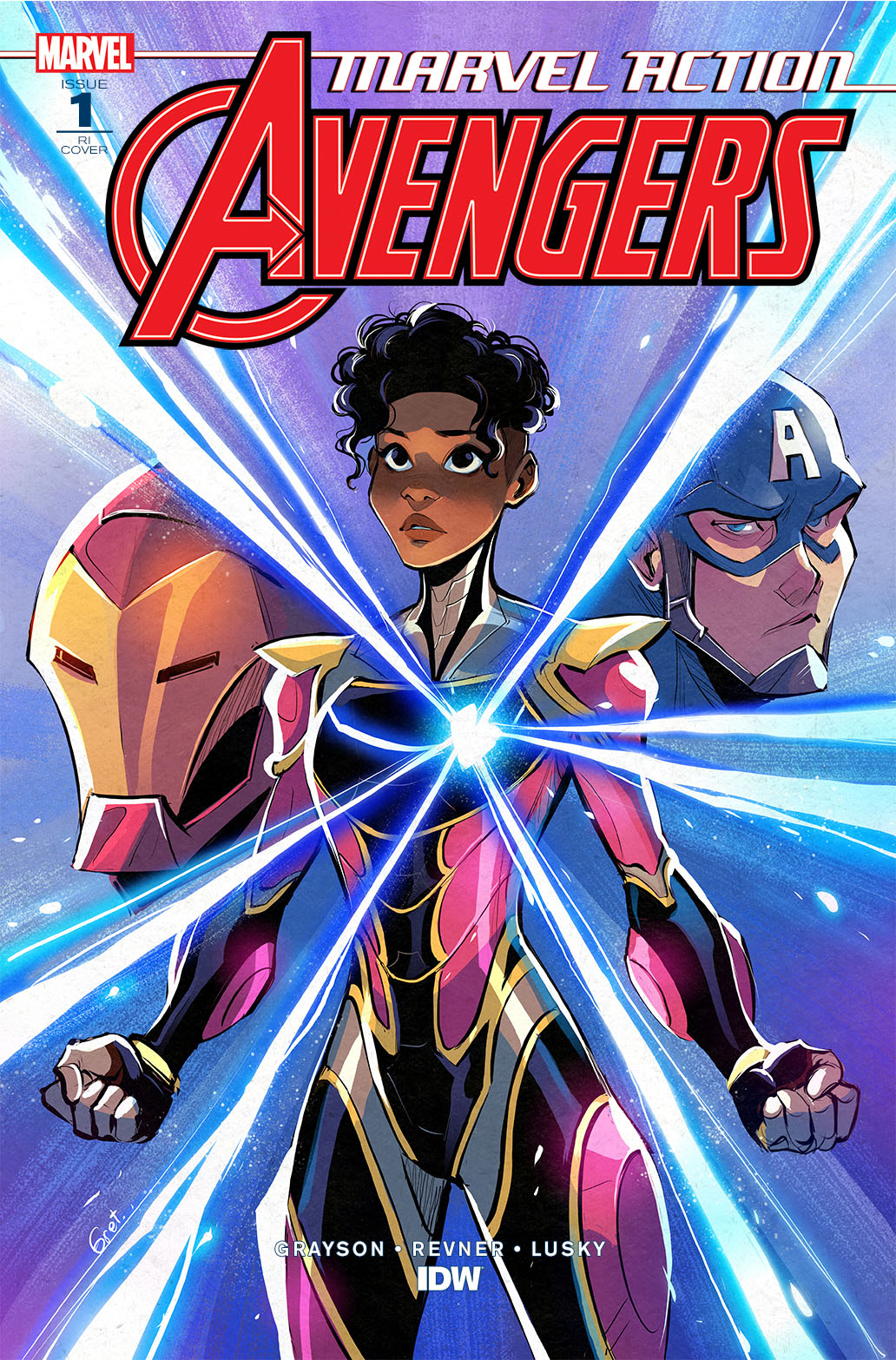 Marvel_Avengers01_coverRI-copy IDW Publishing June 2021 Solicitations