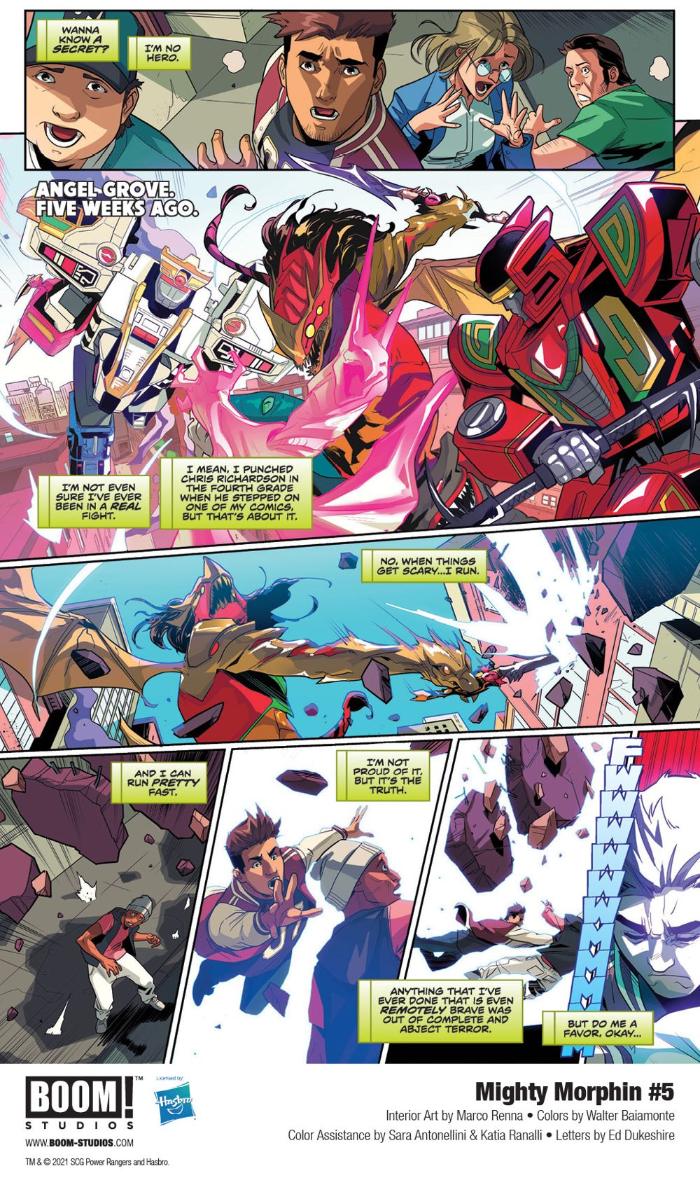 MightyMorphin_005_InteriorArt_001_PROMO First Look at BOOM! Studios' MIGHTY MORPHIN #5