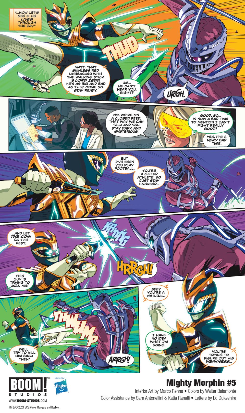 MightyMorphin_005_InteriorArt_005_PROMO First Look at BOOM! Studios' MIGHTY MORPHIN #5