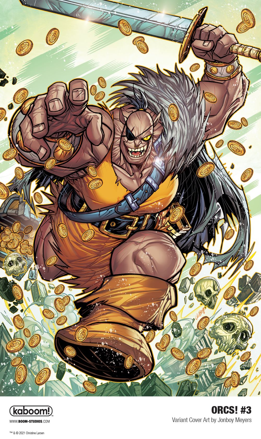 ORCS_003_Cover_Variant_Meyers_PROMO First Look at BOOM! Studios' ORCS! #3