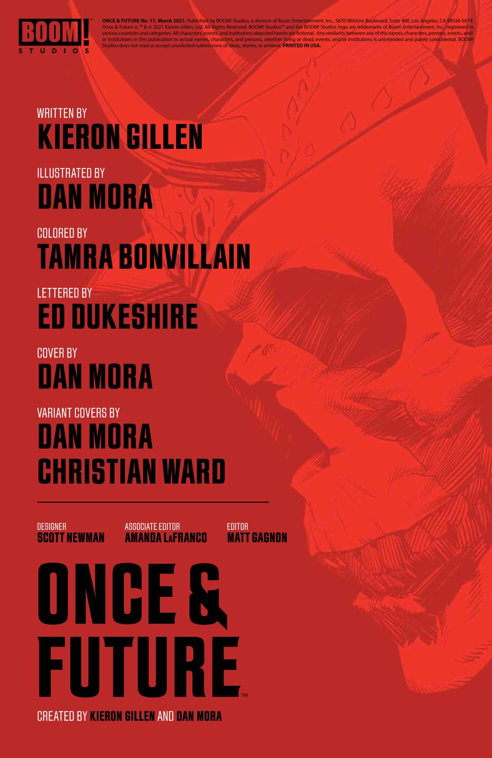 OnceFuture_017_PRESS_2 ComicList Previews: ONCE AND FUTURE #17