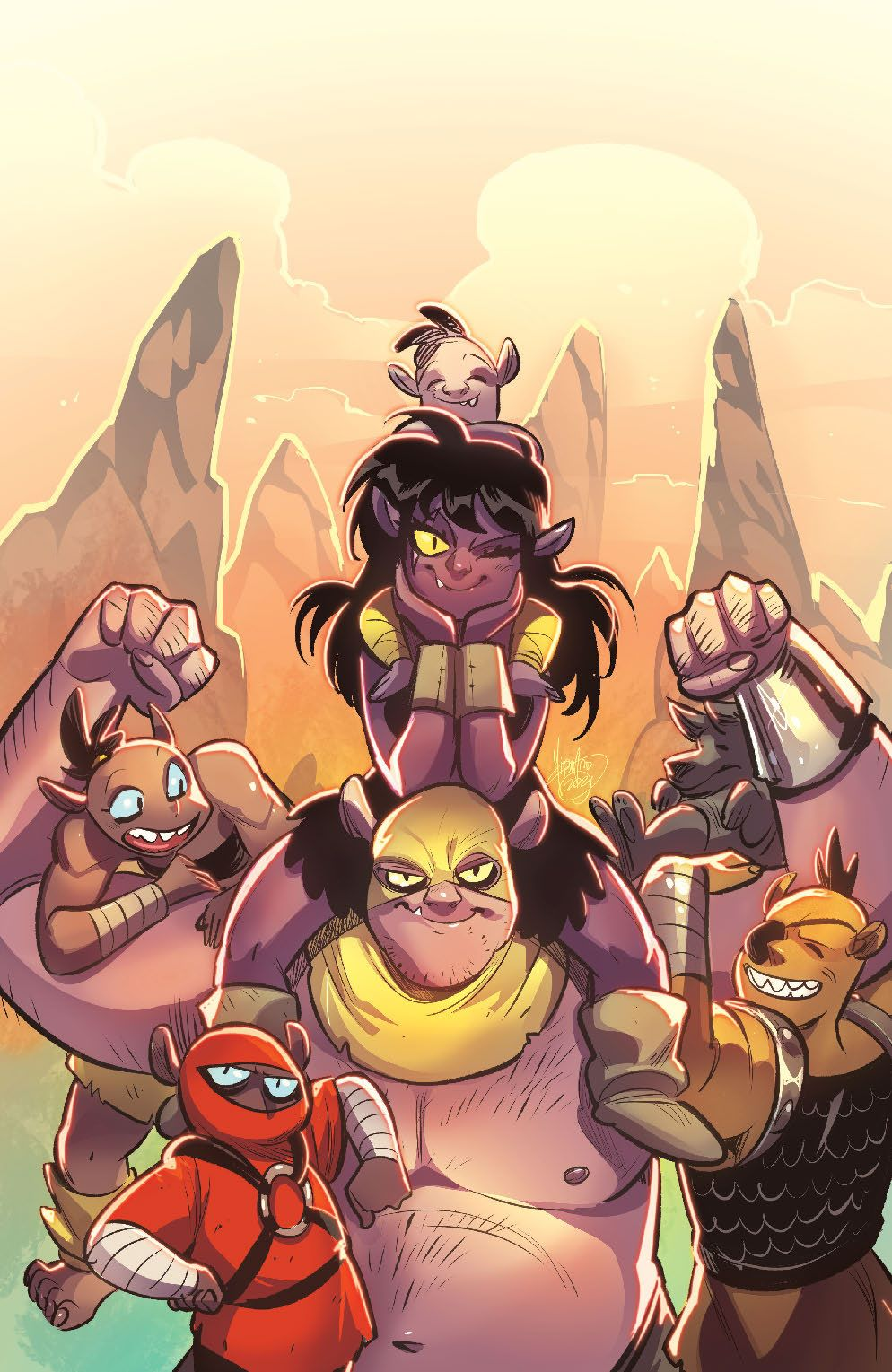 Orcs_002_Cover_C_Variant ComicList: BOOM! Studios New Releases for 03/17/2021