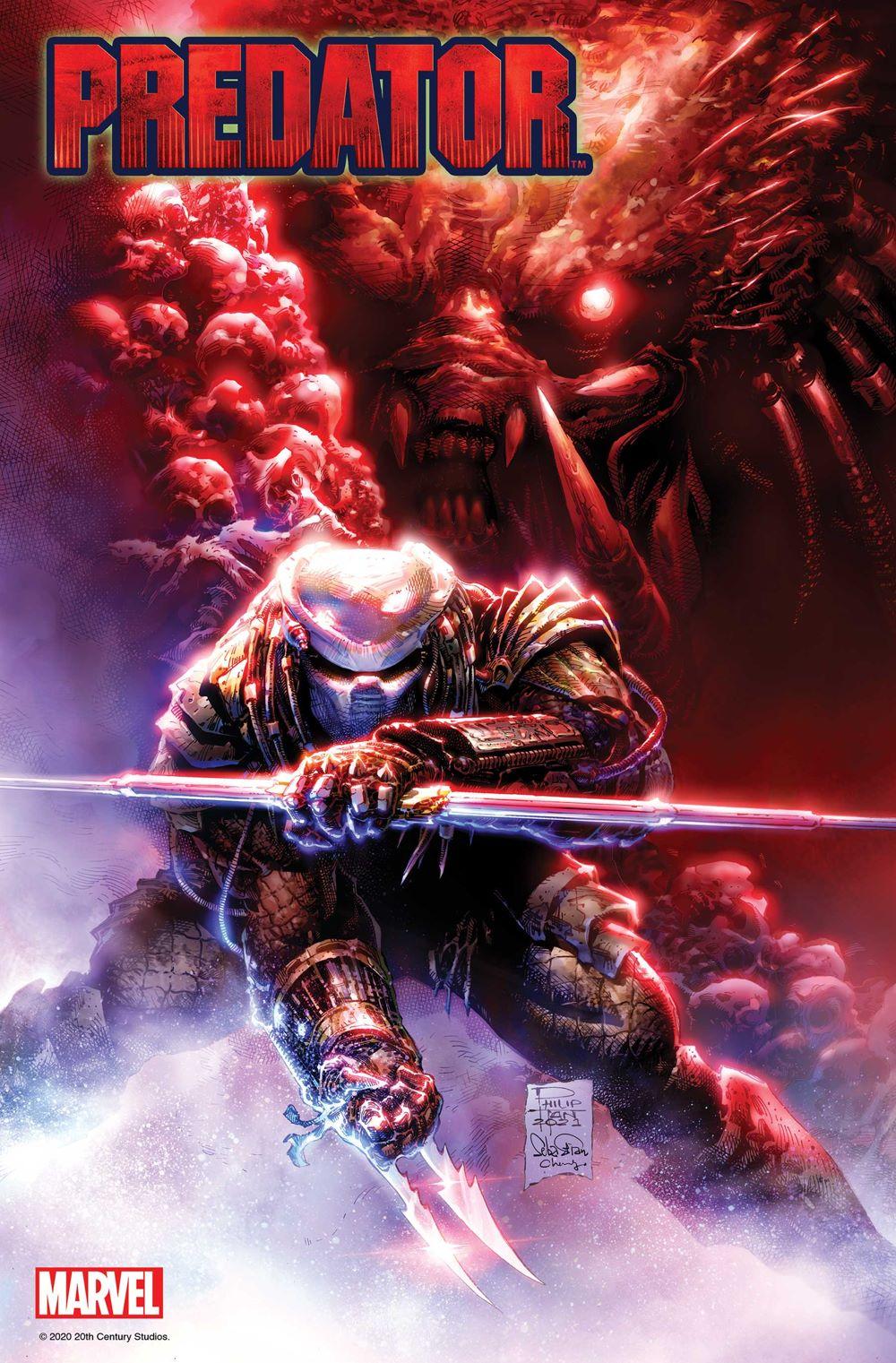 PREDATOR2021001_Tan_Var Marvel Comics June 2021 Solicitations