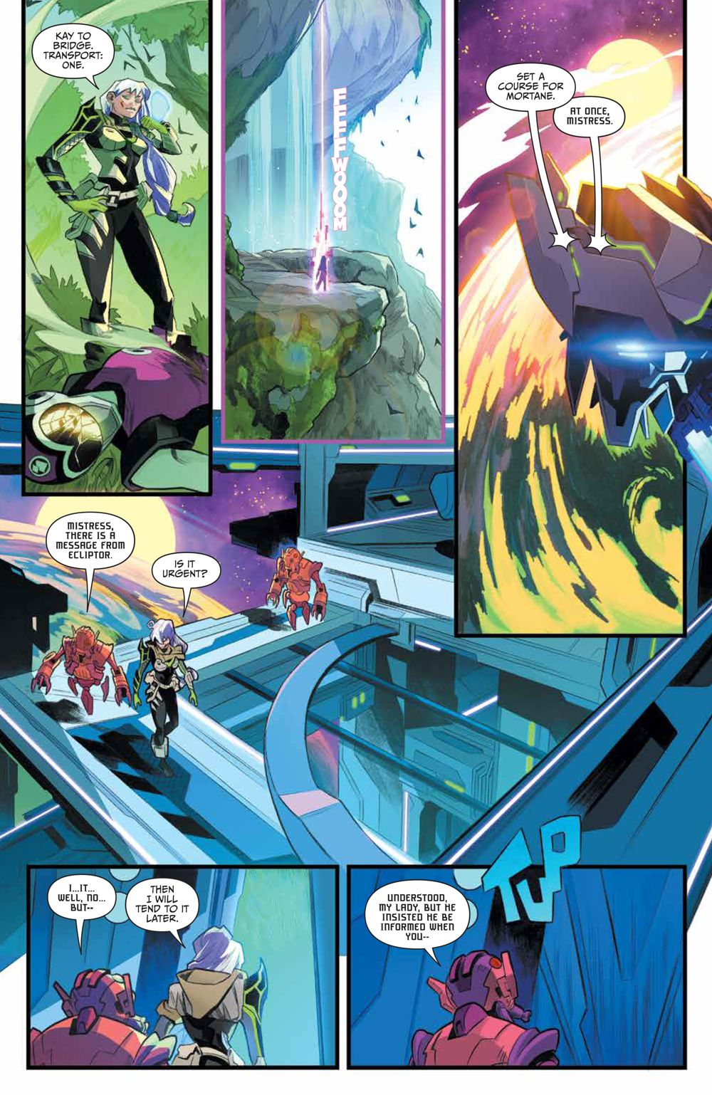 PR_Unlimited_HeirDarkness_001_PRESS_8 ComicList Previews: POWER RANGERS UNLIMITED HEIR TO THE DARKNESS #1