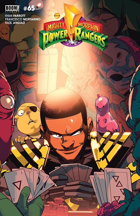 PowerRangers_005_Cover_B_Legacy ComicList Previews: POWER RANGERS #5