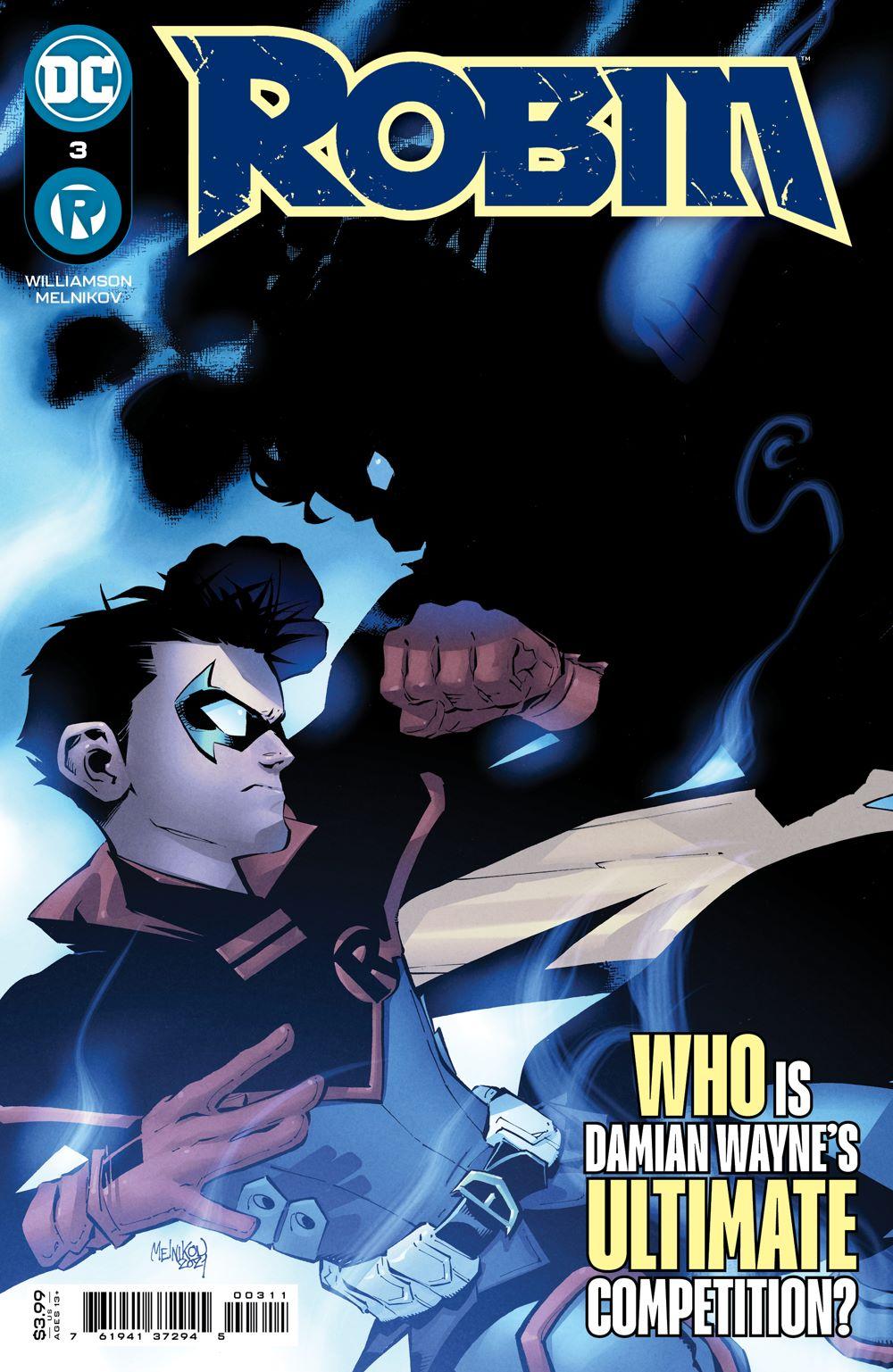 ROBIN_Cv3_silo DC Comics June 2021 Solicitations