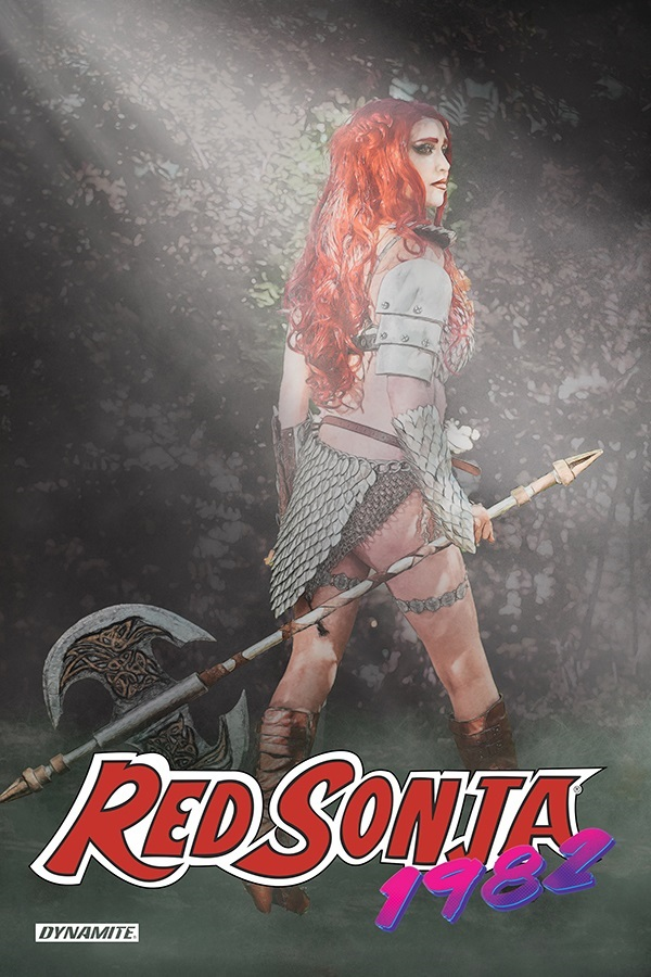 RS1982-01031-C-Cosplay Red Sonja travels with Amy Chu to the awesome 80s