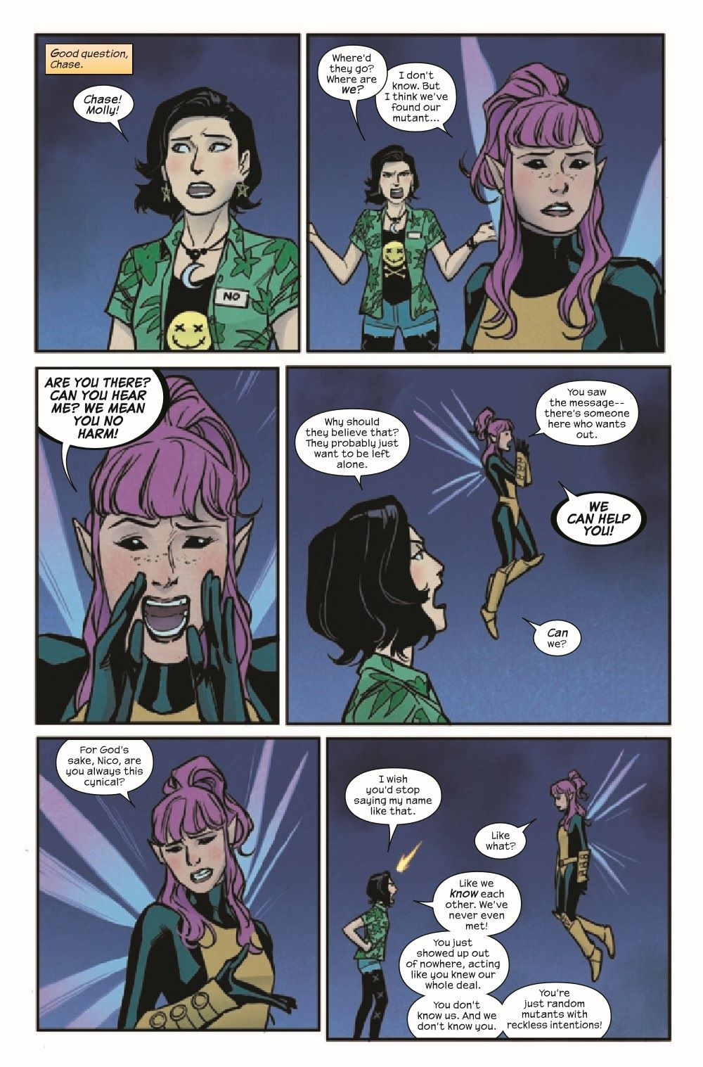RUNAWY2017034_Preview-3 ComicList Previews: RUNAWAYS #34