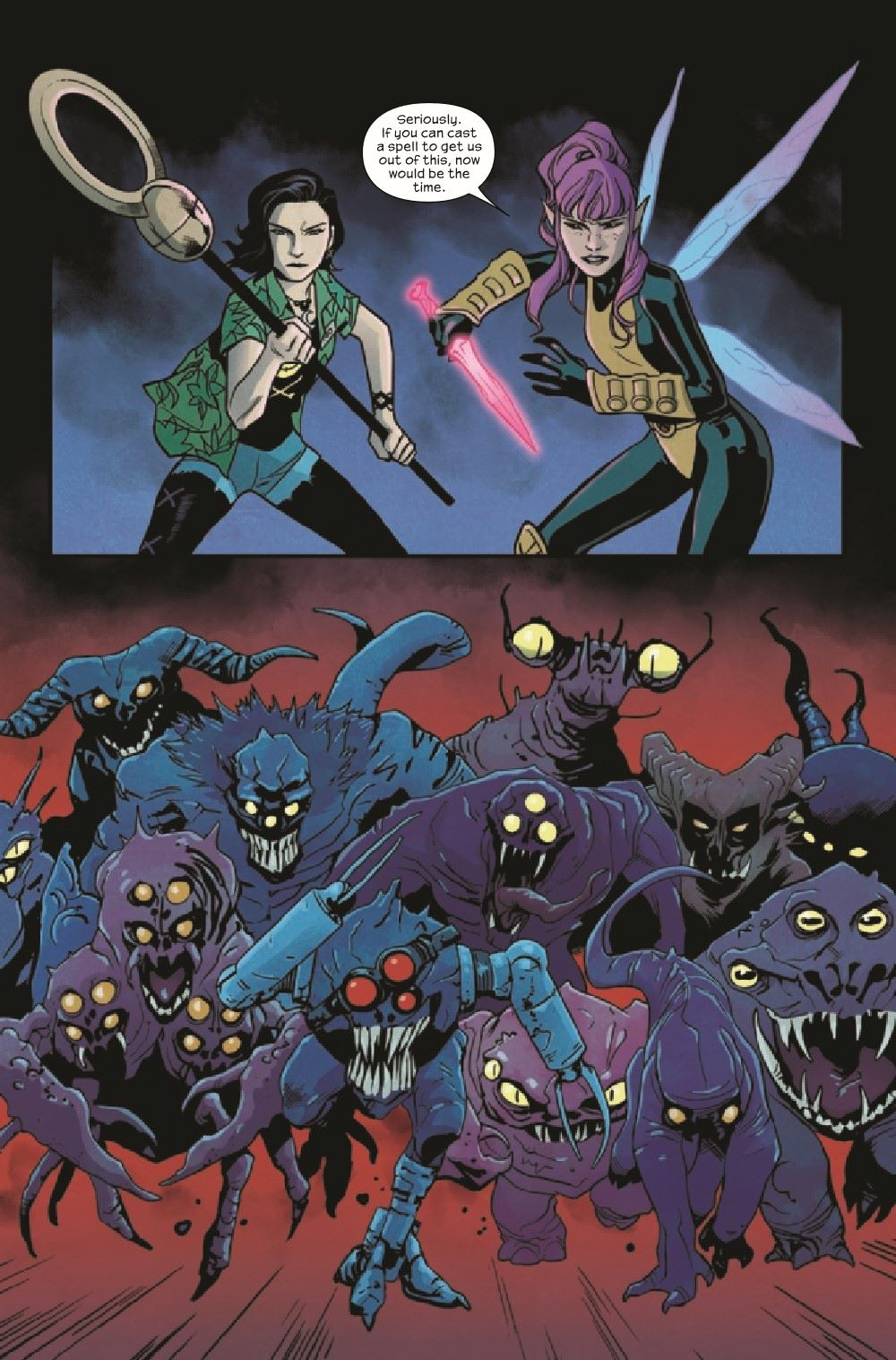 RUNAWY2017034_Preview-6 ComicList Previews: RUNAWAYS #34