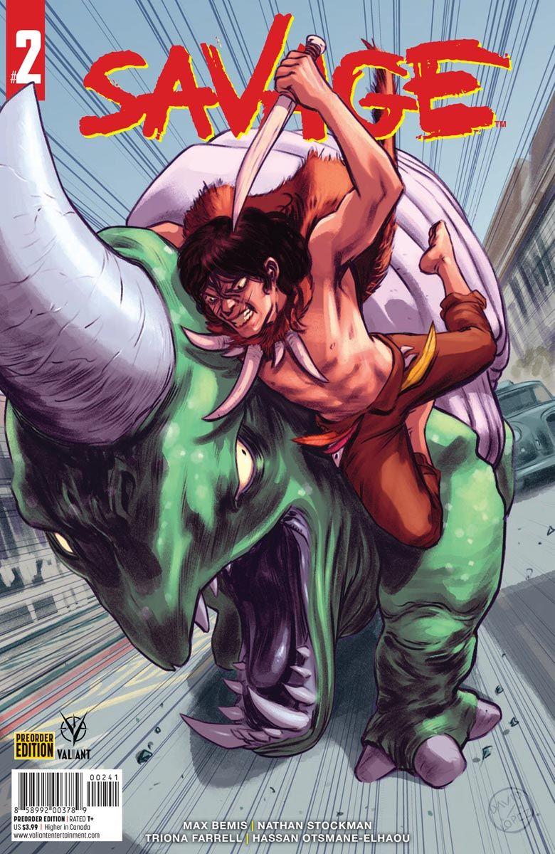 SAVAGE_2_PREORDER ComicList Previews: SAVAGE #2