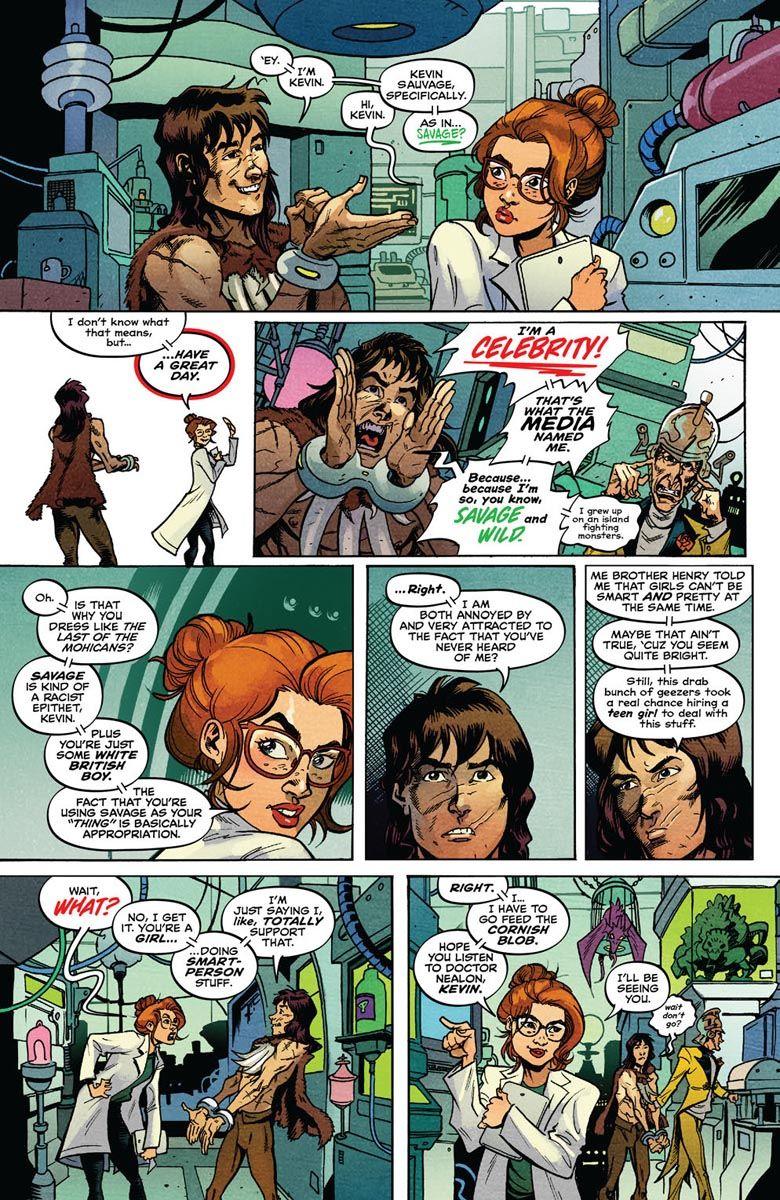 SAVAGE_2_PREVIEW_4 ComicList Previews: SAVAGE #2