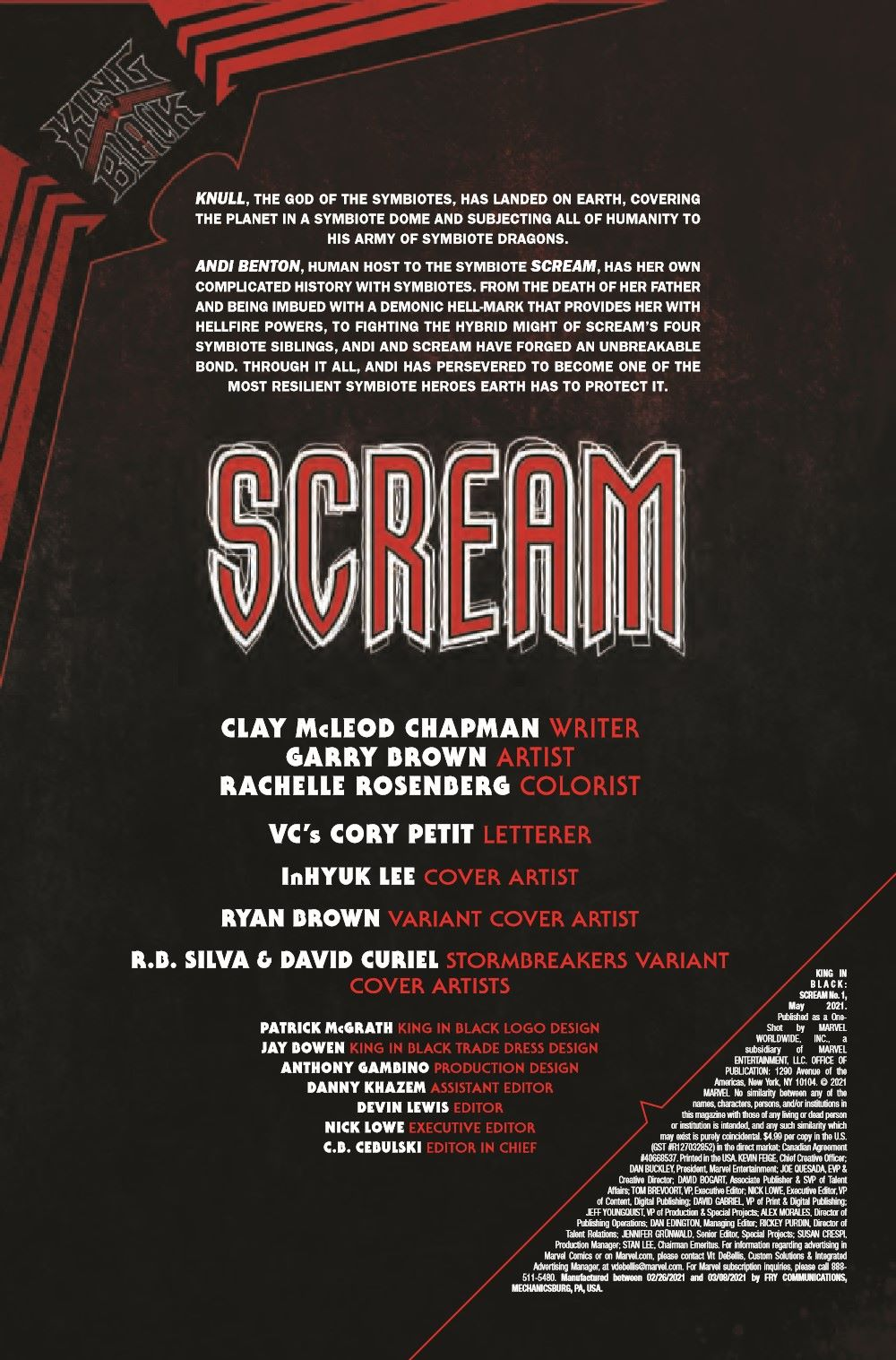 SCREAMKIB2021001_Preview-2 ComicList Previews: KING IN BLACK SCREAM #1