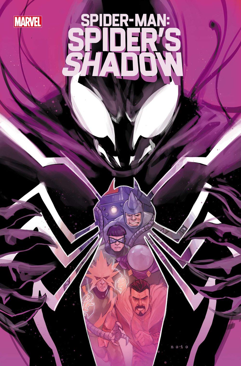 SMSPIDERSHADOW2021003_COV Marvel Comics June 2021 Solicitations