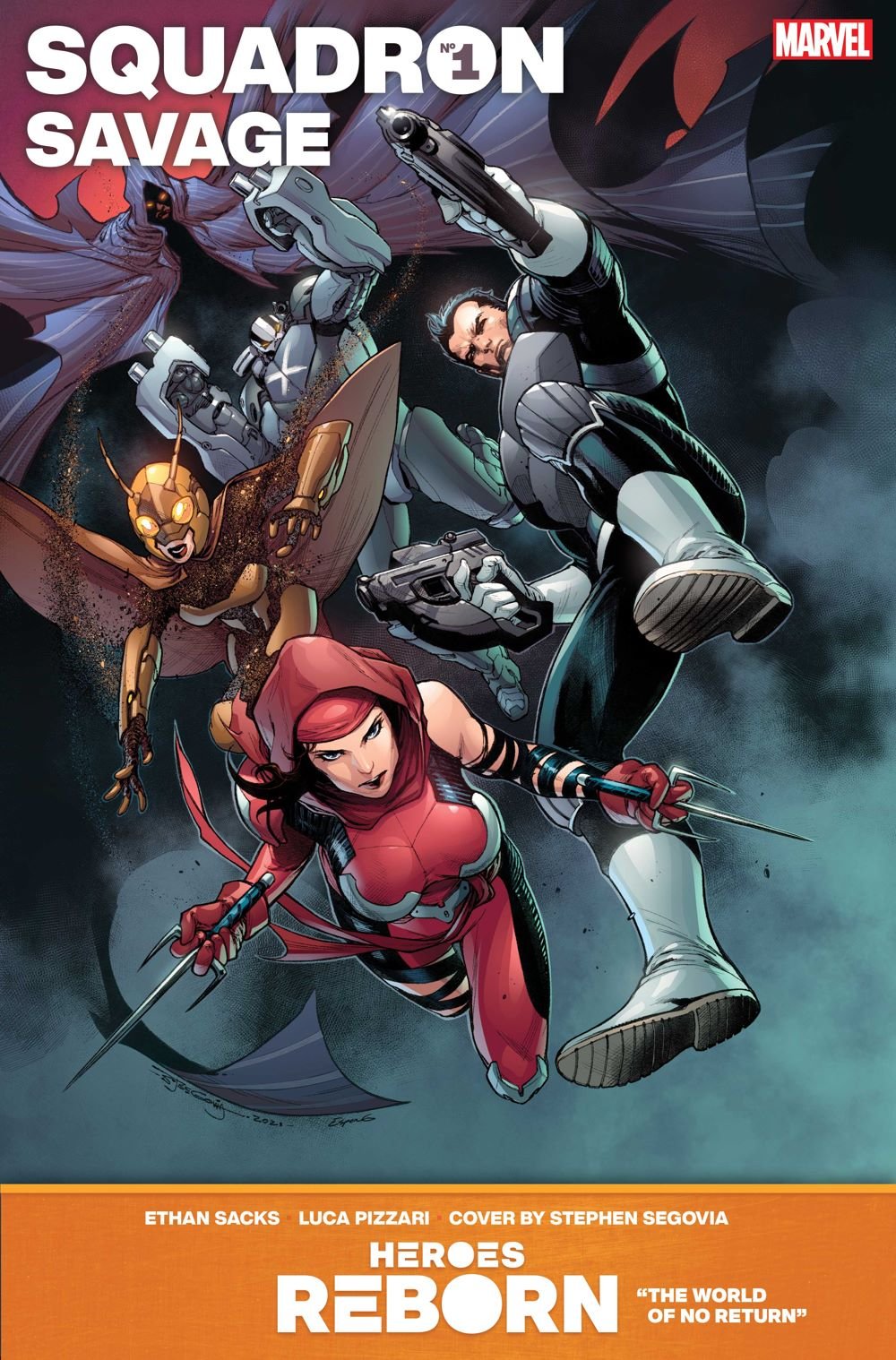 SQUADRON_SAVAGE Even more HEROES REBORN covers are revealed