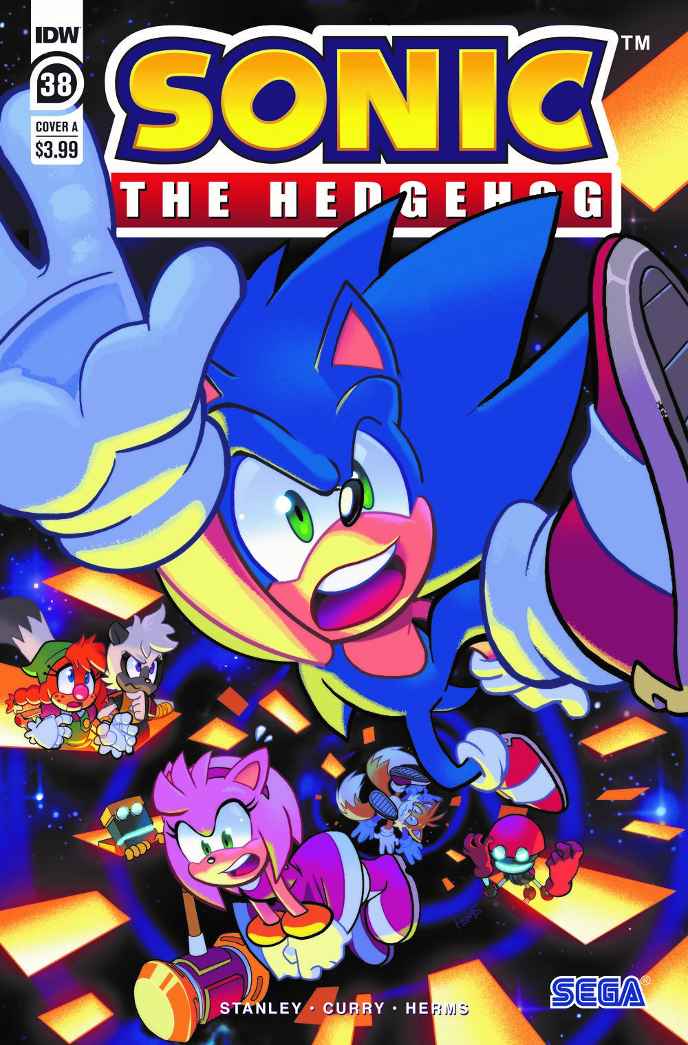 STH38_cvrA ComicList: IDW Publishing New Releases for 03/24/2021