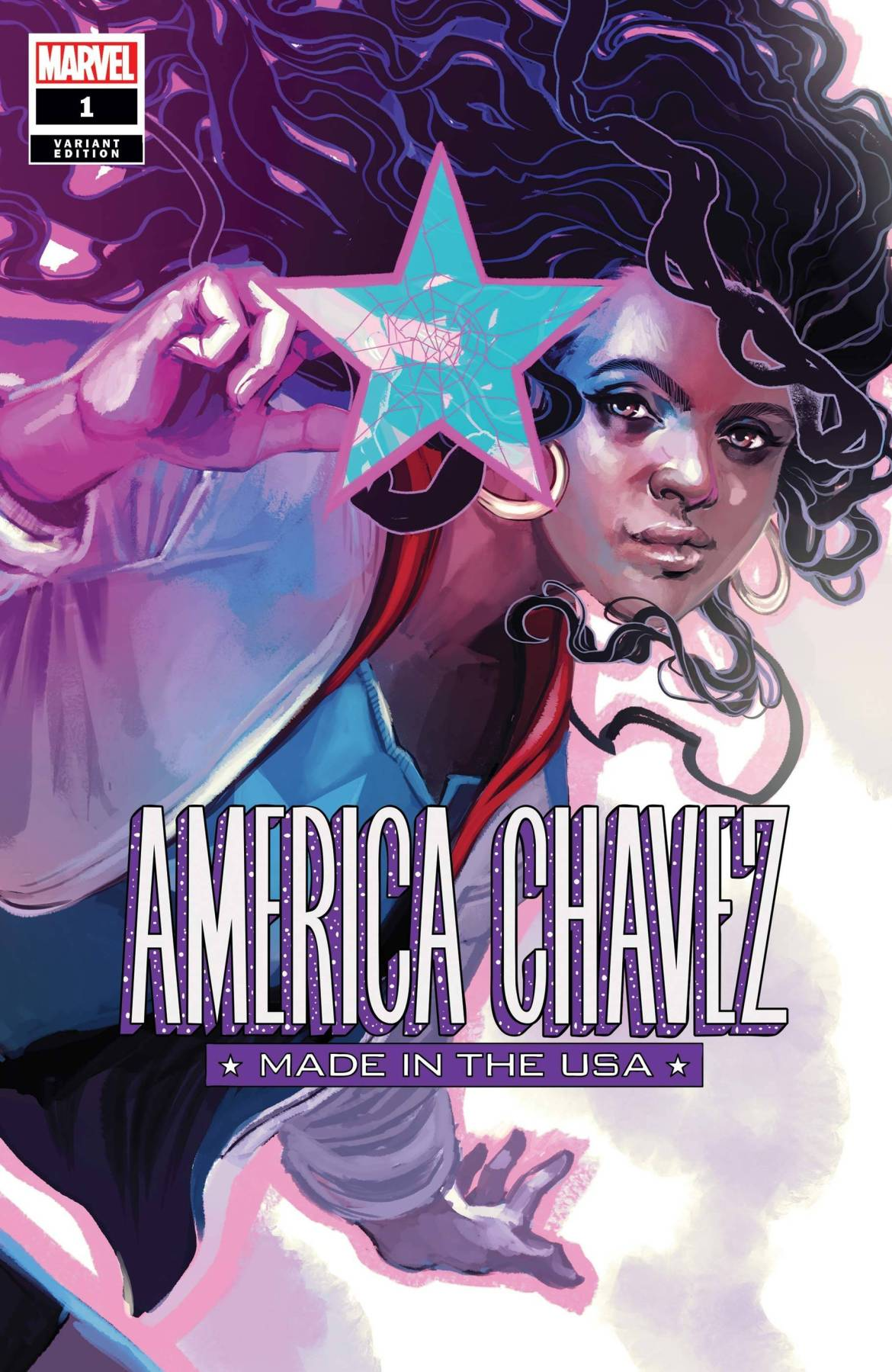 STL158053 New challenges are undertaken in AMERICA CHAVEZ: MADE IN THE USA #1