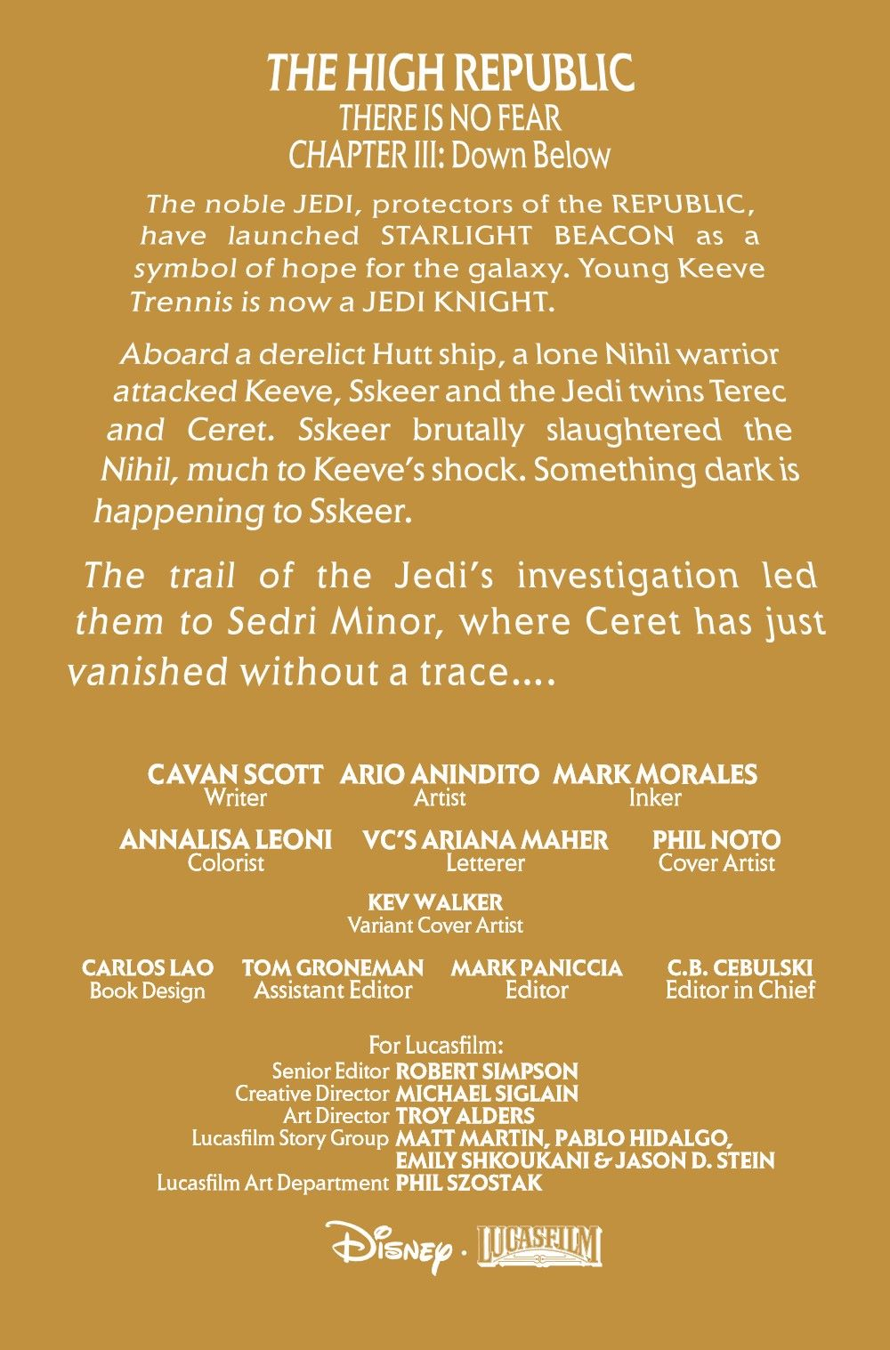 STWHIGHREP2020003_Preview-2 ComicList Previews: STAR WARS THE HIGH REPUBLIC #3