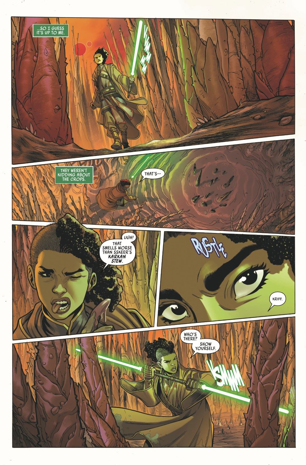 STWHIGHREP2020003_Preview-3 ComicList Previews: STAR WARS THE HIGH REPUBLIC #3