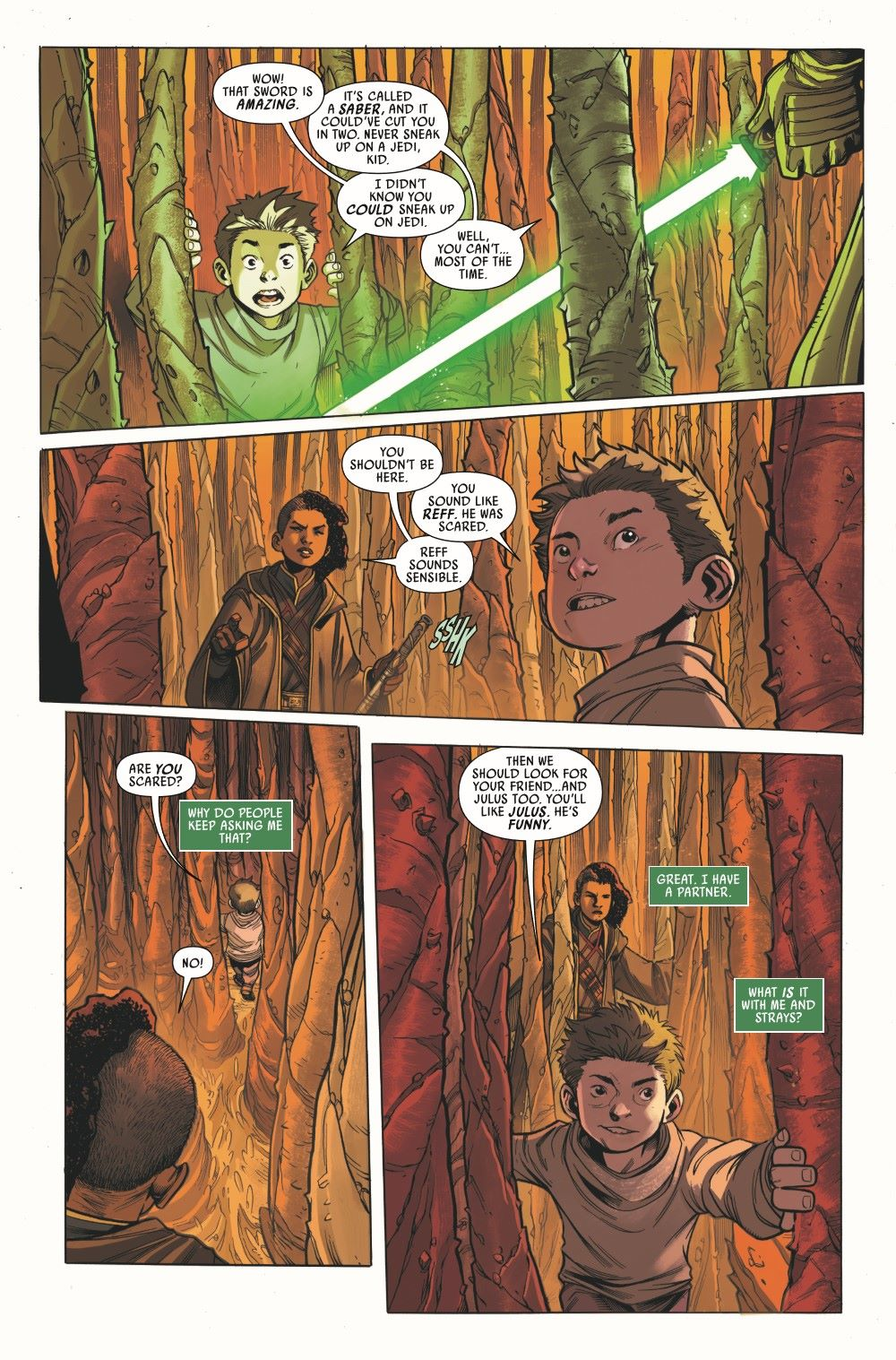 STWHIGHREP2020003_Preview-4 ComicList Previews: STAR WARS THE HIGH REPUBLIC #3