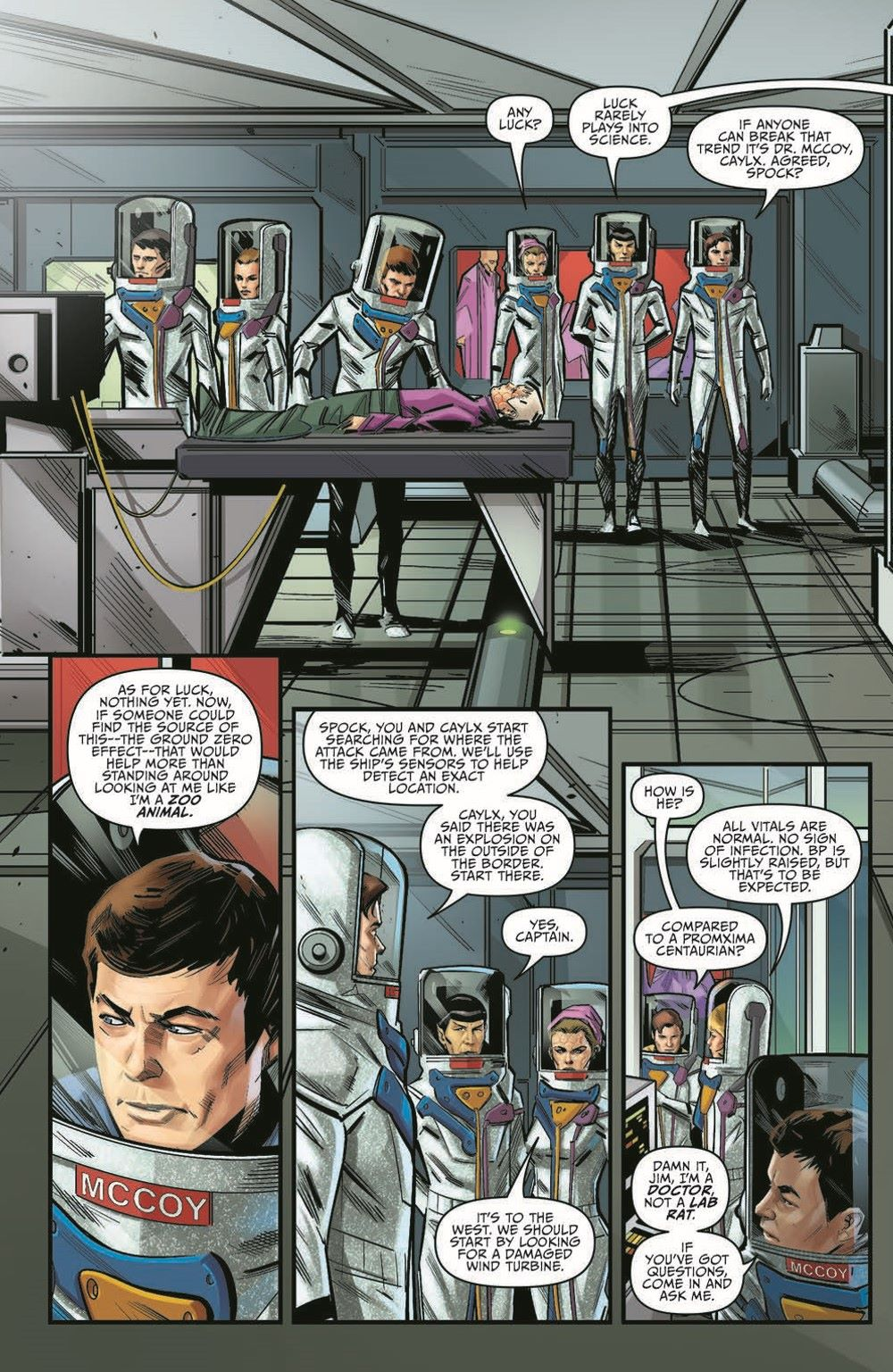 ST_YearFive19-pr-6 ComicList Previews: STAR TREK YEAR FIVE #19