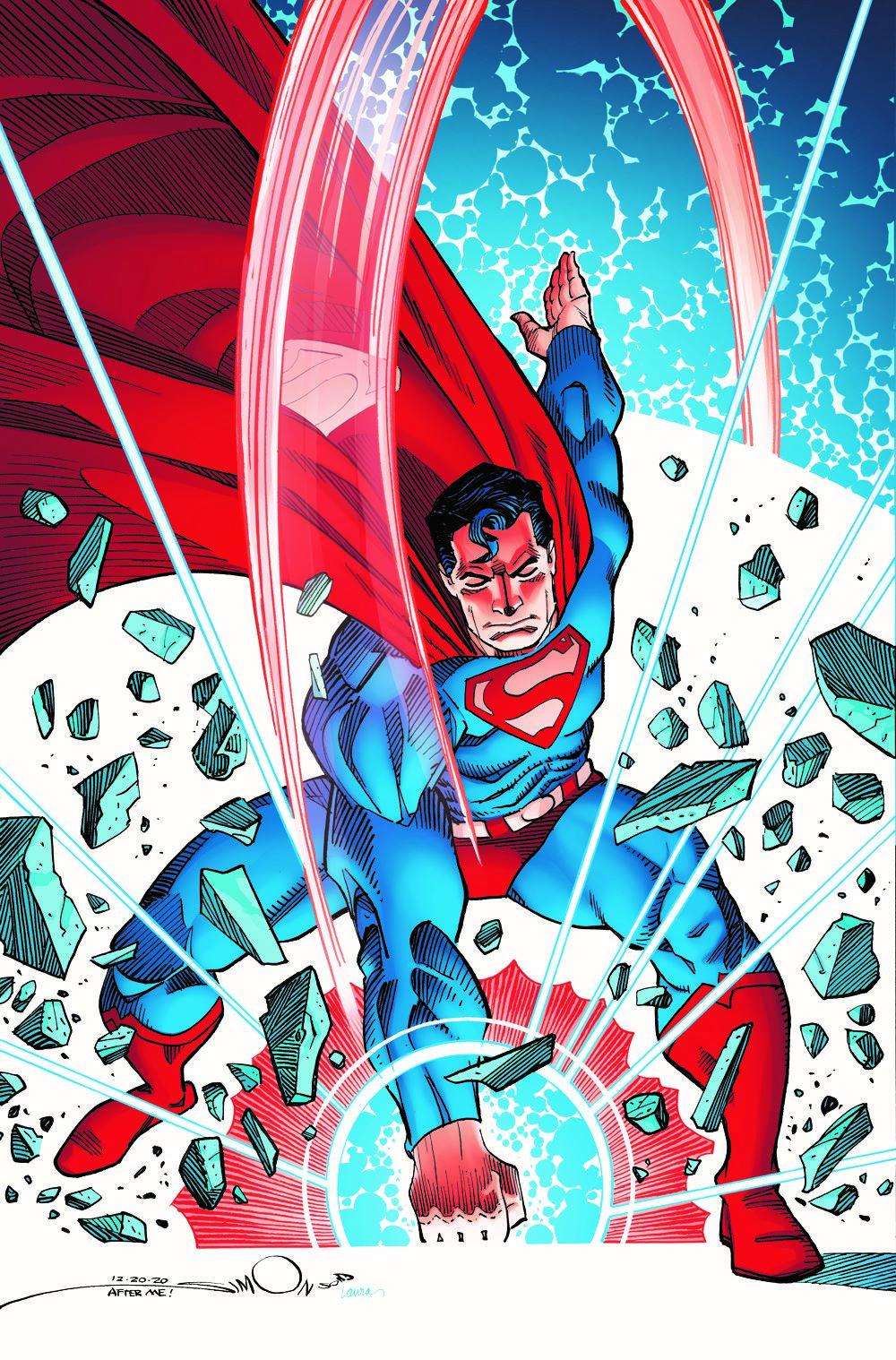 SUPERMAN-VARIANT-COVER.Simonson_CMYK DC Comics June 2021 Solicitations