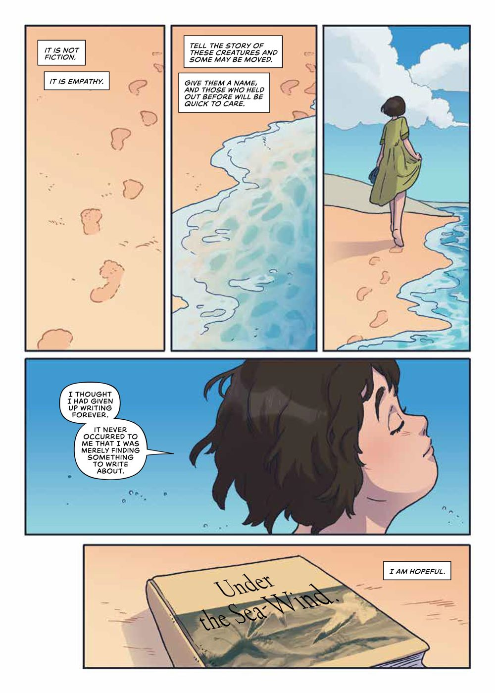 Seen_RachelCarson_OGN_SC_PRESS_21 ComicList Previews: SEEN TRUE STORIES OF MARGINALIZED TRAILBLAZERS VOLUME 2 RACHEL CARSON GN