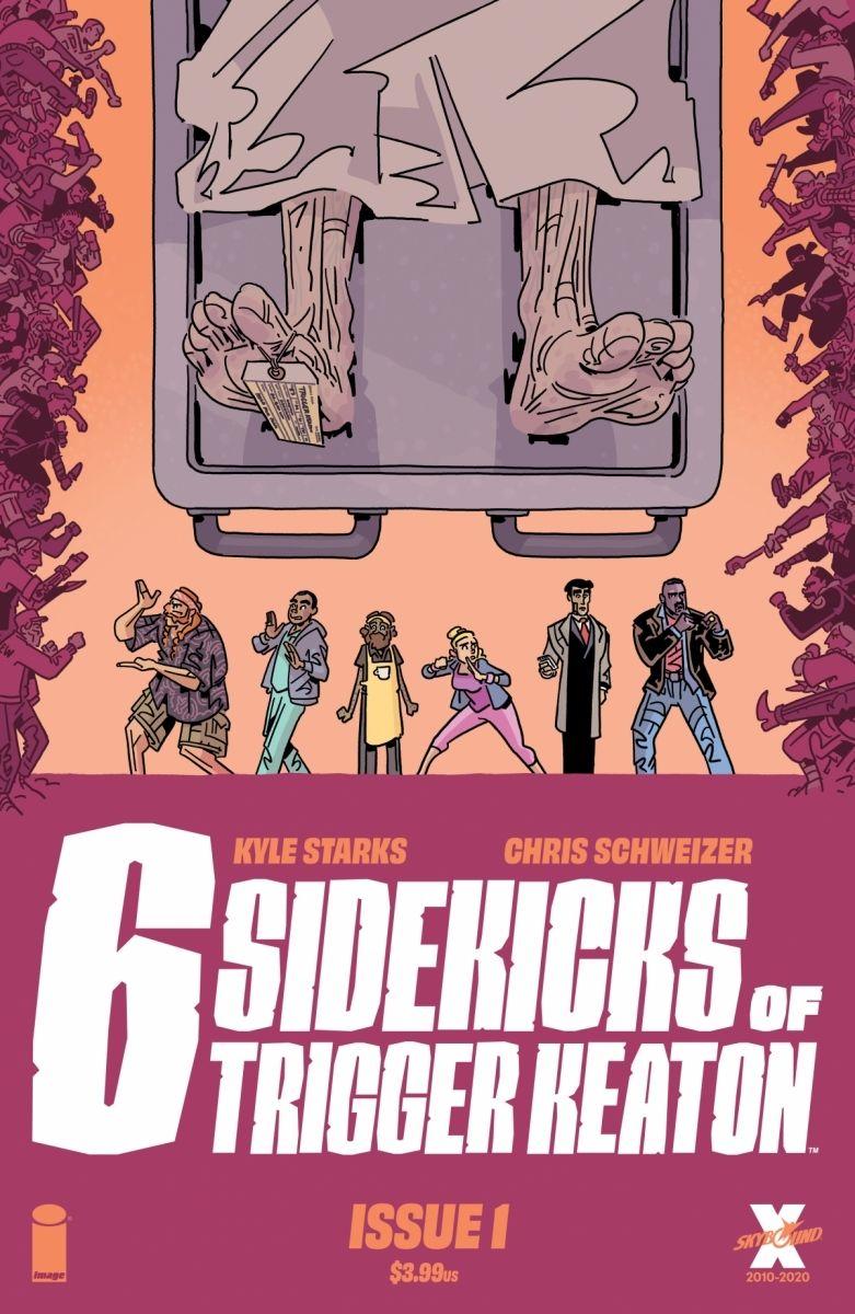 SixSidekicks01_Cover_c6815a0147f8285e3b5042ebb3626151 First Look at Image Comics' THE SIX SIDEKICKS OF TRIGGER KEATON #1