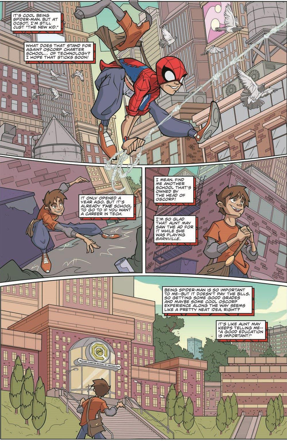 SpidermanV3-01_pr-6 ComicList Previews: MARVEL ACTION SPIDER-MAN VOLUME 3 #1