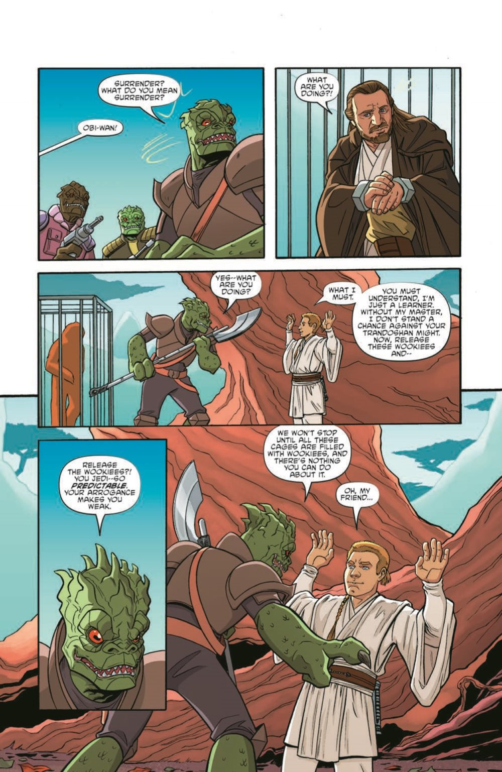 StarWarsAdv04-pr-7 ComicList Previews: STAR WARS ADVENTURES VOLUME 2 #4