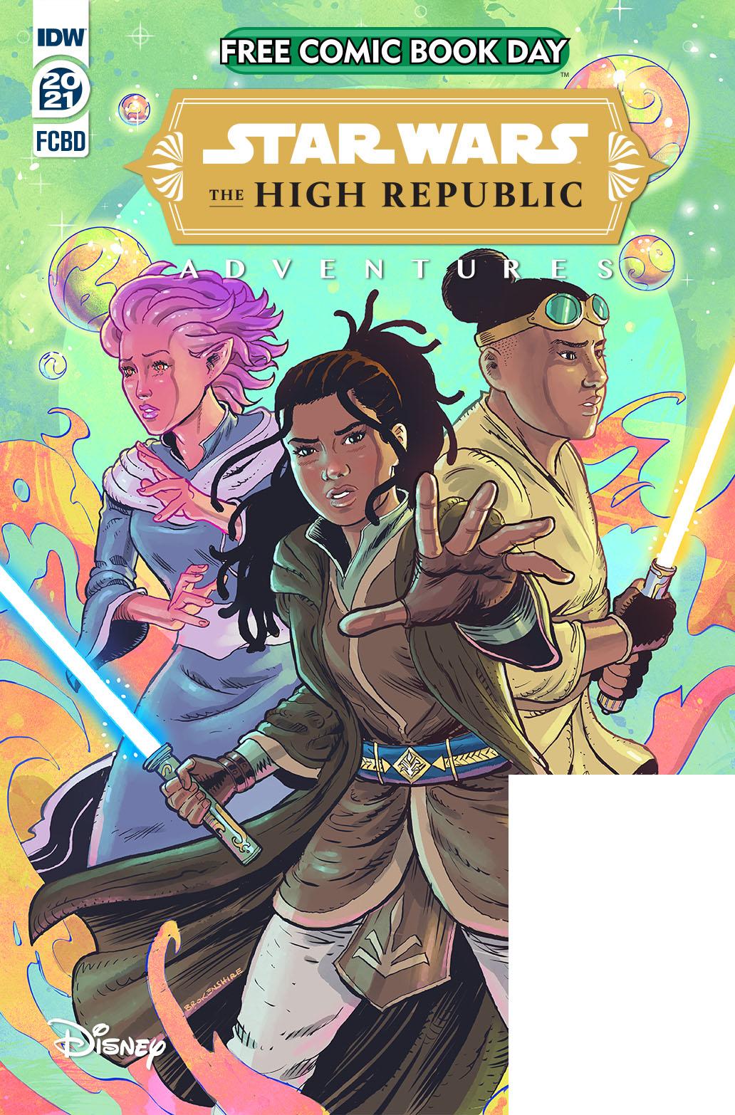 StarWarsHighRepublic-FCBD2021-A-copy IDW Publishing June 2021 Solicitations