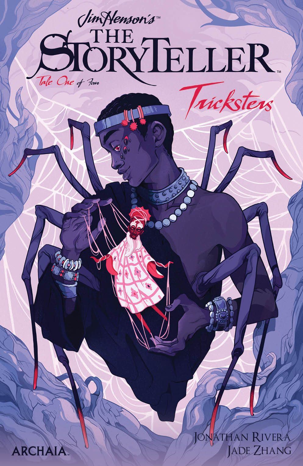 StorytellerTricksters_001_Cover_B_Variant ComicList Previews: JIM HENSON'S THE STORYTELLER TRICKSTERS #1 (OF 4)
