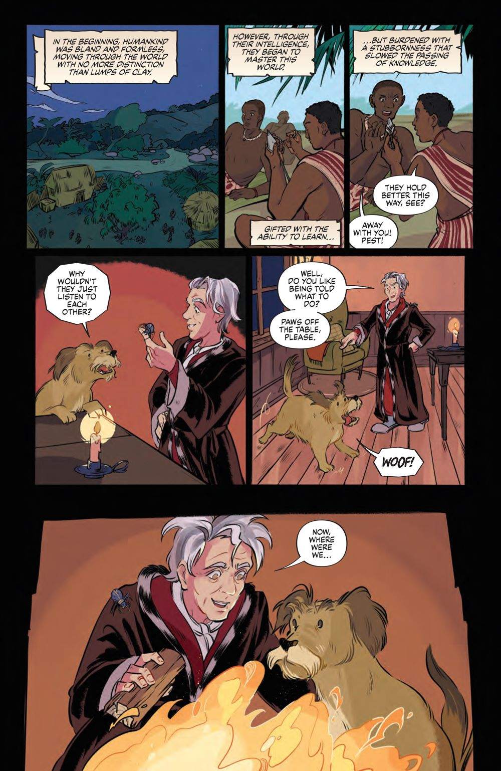Storyteller_Tricksters_001_PRESS_4 ComicList Previews: JIM HENSON'S THE STORYTELLER TRICKSTERS #1 (OF 4)