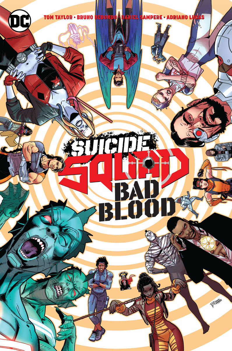 Suicide_Squad_Bad_Blood_Tom_Taylor_Bruno_Redondo_60496fec797665.38776879 DC PRIDE anthology to feature nine Pride themed variant covers