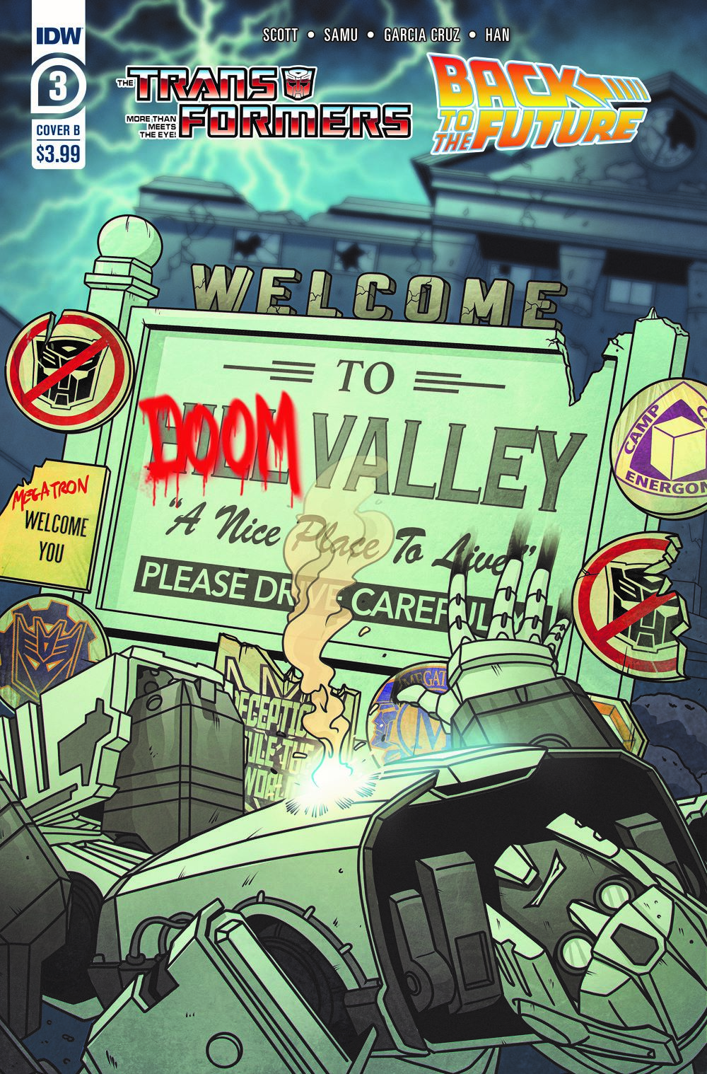 TF-BTTF03-coverB ComicList: IDW Publishing New Releases for 03/17/2021